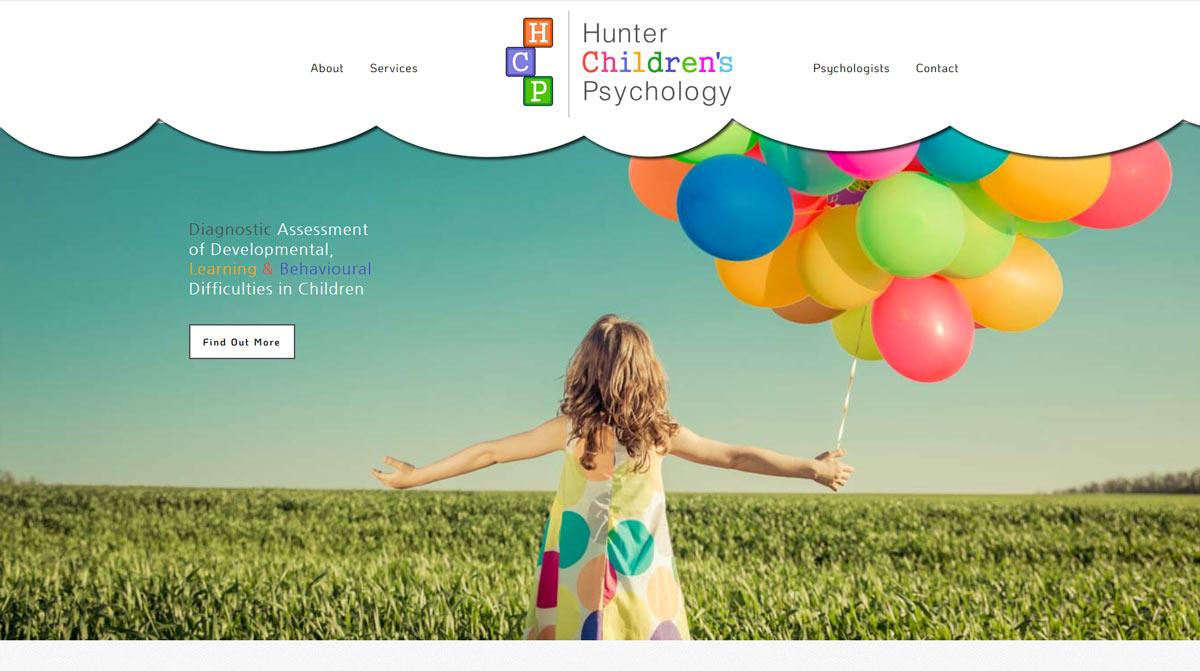 website design for a psychology practice