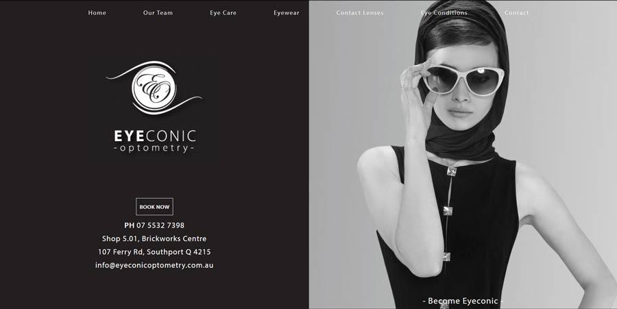 optometry practice website design