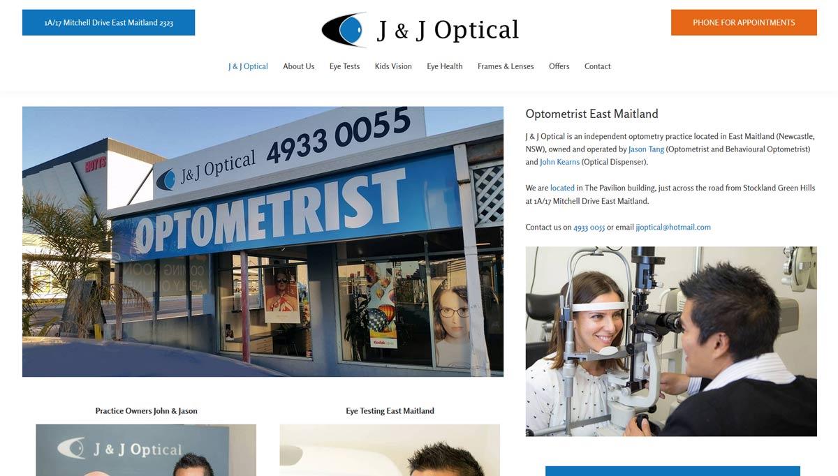 Websites for health professionals including psychology websites & optometry websites
